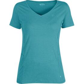 Fjällräven Abisko Cool Naiset Lyhythihainen paita , turkoosi